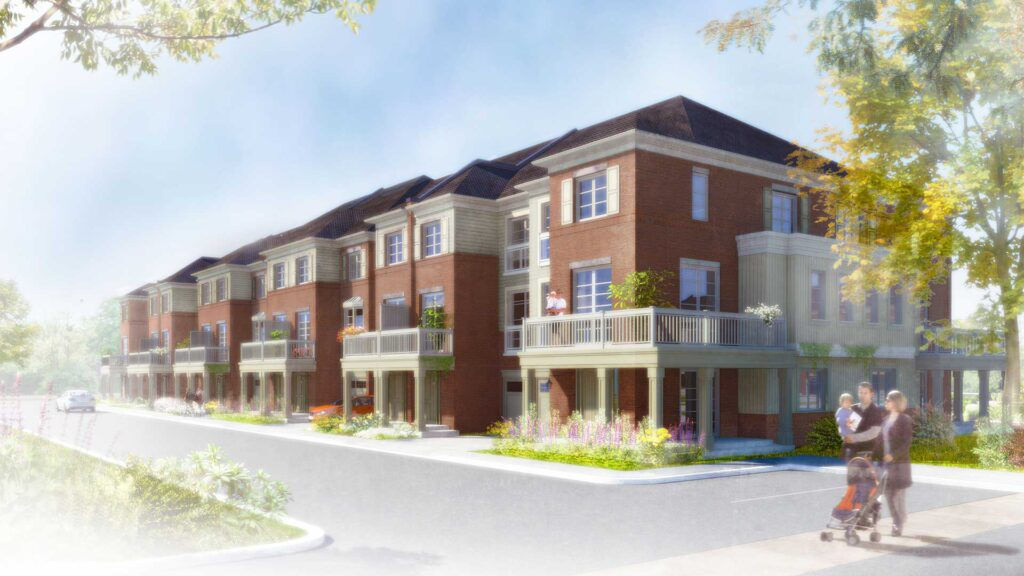 Main Living York Trafalgar Homes Developer Milton Ontario