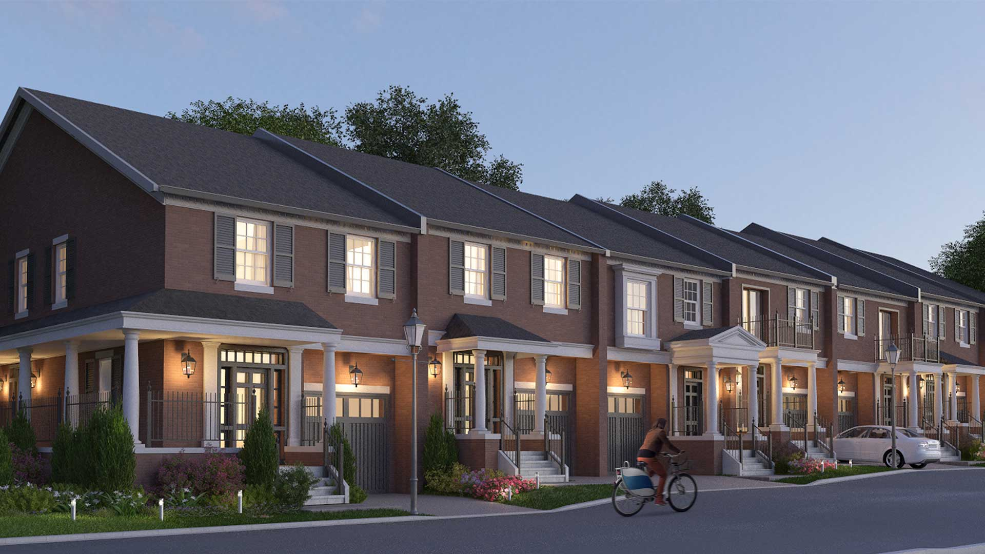 Bronte Hill Houses York Trafalgar Homes Milton